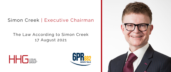 Law According to Simon Creek | New VAD Laws in WA | 17Aug21